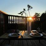 Dernier diner en terrasse