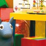 Sala de juegos infantiles.
