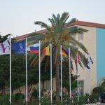 Площадка у отеля