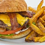 angus burger, yum.