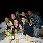 And the other barbeque party with the guests :)