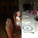 """Une """"princesse"""" dans la salle à manger"""