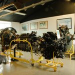 Another view of the aero-engine collection