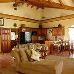 Master living/dining/kitchen room