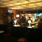 mise en scène du bar