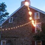 Wedding Reception Outside the John Roberts House