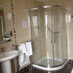 lovely clean shower