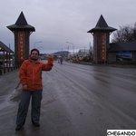 Chegando em Ushuaia