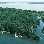 Aerial view of Samara Point Resort