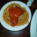 The BBQ Shop's Barbecue spaghetti