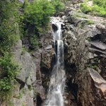 One of the many falls in Crawford Notch State Park.