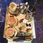 Our Yummy breakfast!!
