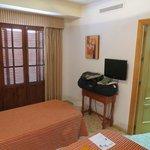 Bedroom with 2 twin beds at Alborada
