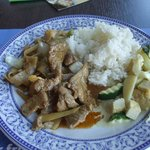 beef and tofu dish