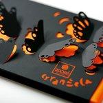 Orangella-handmade chocolate bar (dark chocolate and orange peal)