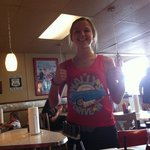 fun waitress at Wally's!