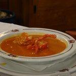 Le riz à la langouste, deux bonnes assiettes par personne!