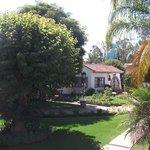Jardín de los bungalows