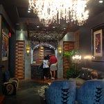 Lobby of Club La Pension