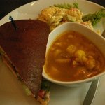daily special soup salad sandwich