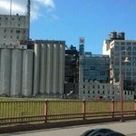 The old grain mills which made Mpls.,Mn the milling capital of the world.Mpls.has preserved thes