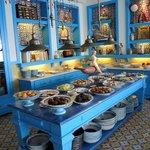 Il Riccio's dessert bar.