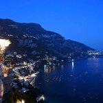Night in Positano.