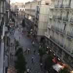 Panoramica desde el balcon del hostal, paseo Arenales.