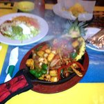 The Ixtapa Fajita, enough food to feed a family of four