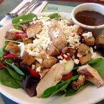 grilled chicken feta salad