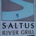 Saltus River Grill sign on Bay Street
