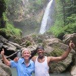 Victoria Falls with Zahir