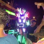 Robot that shows up during the night