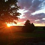 Sunset from balcony Night #4