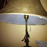 lampshade falling apart