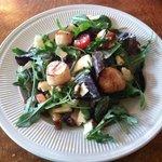 Maple Scallop Salad - DELICIOUS!!!