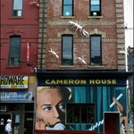 Cameron House. Mural by John Abrams -2012