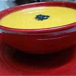 Sopa de Zapallo Jengibre