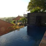 View of and from private Pool