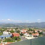 view from breakfast...Marostica