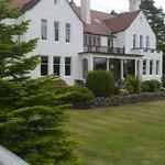 Hotel from garden terrace