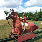 Lots of fun at Medieval festival (Bodiam Castle 15 mins drive)