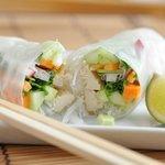 Rice paper rolls - vegetarian