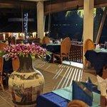 Notre restaurant avec vue sur mer