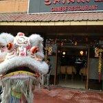 Chinese lion dance @ shinryu
