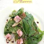 starter - feta and beetroot salad