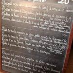 Le menu à 26 euros