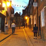 Streets of Lincoln at night