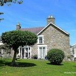 Rhianfa farmhouse and Garden.
