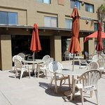Outdoor Dining Romm and Swimmingpool seat